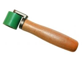 Прикаточный ролик (силикон) 28 мм, на шарикоподшипнике