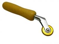 Прикаточный ролик латунный 6 мм, на шарикоподшипнике