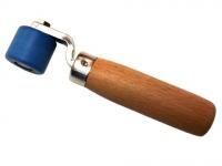 Прикаточный ролик фторопластовый 28 мм на шарикоподшипнике
